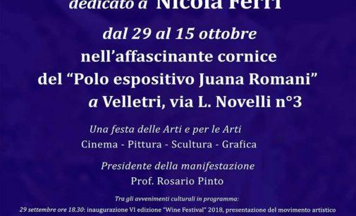 """VI edizione del Velletri """"WINE FESTIVAL"""" dedicato a Nicola Ferri"""