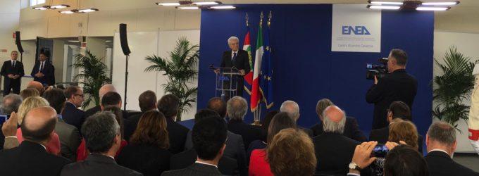 Il Presidente della Repubblica Mattarella visita il Centro ENEA Casaccia