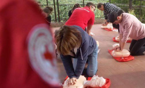 La Croce Rossa Italiana ha organizzato un corso di Primo Soccorso