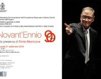 Novant'ennio.  Ennio Morricone compie 90 anni e festeggia alla guida dell'orchestra e del coro dell'accademia di Santa Cecilia
