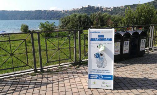 #NoLittering contro l'abbandono dei rifiuti