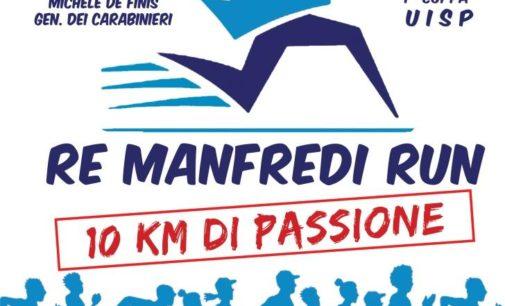 Il treno dello sport transita a Manfredonia con la Re Manfredi Run Km 10