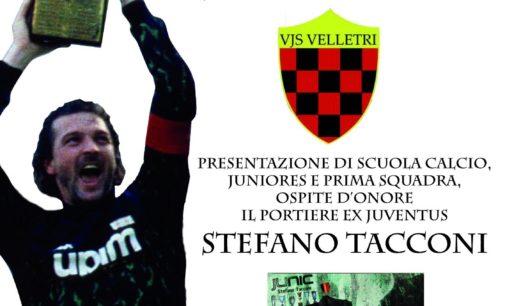 La Vjs Velletri si presenta alla città. Ospite d'onore il portiere ex Juventus e Nazionale, Stefano Tacconi.