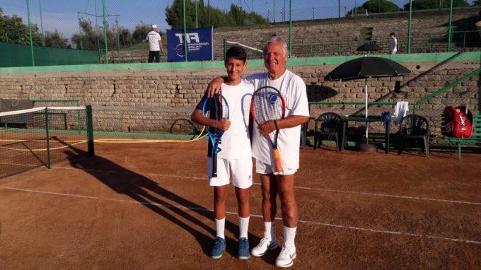 """3T Frascati Sporting Village (tennis), Dionisi finalista Under 14 al """"Circuito del Tirreno"""""""