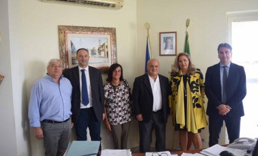La Giunta Comunale di Lariano ha incontrato il nuovo Dirigente Scolastico dell'Istituto Comprensivo di Lariano