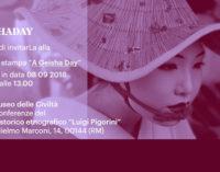 "Conferenza Stampa Workshop ""Un giorno in una casa delle Geisha"""