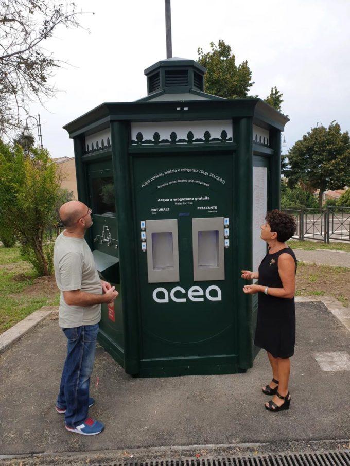 A Castel Gandolfo arriva la seconda  casa dell'acqua firmata Acea