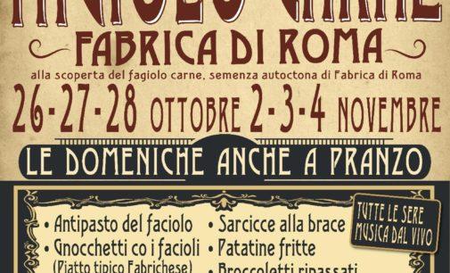 Sagra del Fagiolo Carne, due week end a tutto gusto a Fabrica di Roma