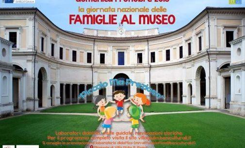 Giornata Nazionale delle Famiglie al Museo  Domenica 14 ottobre 2018