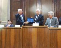 Albano Laziale, premio Mater Urbis: bagno di folla per Piero Angela