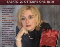 Marino: la maggiore esperta di intelligence italiana, a Punto a Capo Onlus