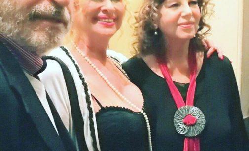 L'attrice Luciana Frazzetto, vincitrice di due prestigiosi premi