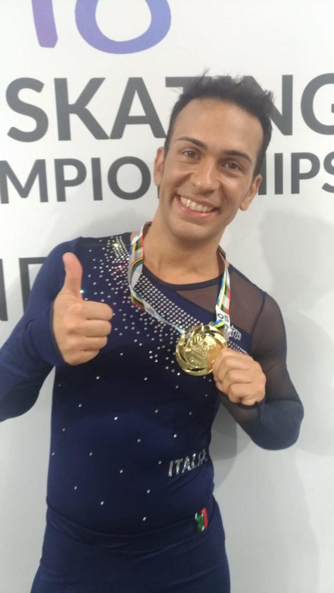Ssd Colonna, il responsabile del settore pattinaggio Federico Tassini è campione del mondo