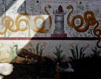 Pompei – SERPENTI AGATODEMONI, PAVONI, DECORI FLOREALI E SCENE DI CACCIA