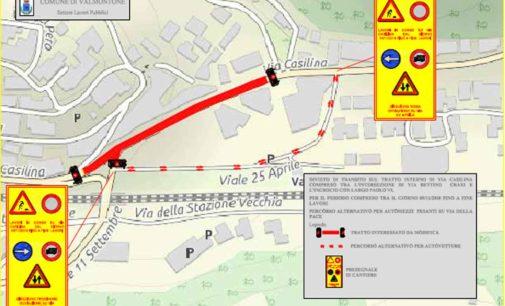 Valmontone – Lunedì al via i lavori su via Casilina: verrà rifatto anche il fondo