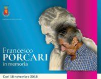 FRANCESCO PORCARI in memoria  (Cori 18.11.2018)