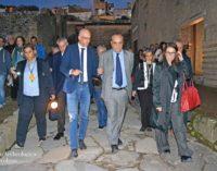 Il Ministro Bonisoli al Parco Archeologico di Ercolano