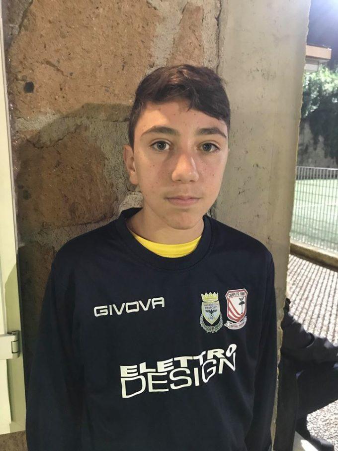 Football Club Frascati (Under 15 prov.), capitan La Rocca: «Una vittoria che ci voleva»
