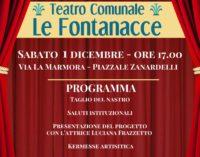 """ROCCA PRIORA, si inaugura il Teatro Comunale """"Le Fontanacce"""""""