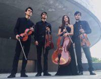 """A """"Note in Biblioteca"""" della IUC il più promettente gruppo da camera italiano,  il Quartetto Eos"""