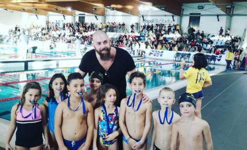 3T Frascati Sporting Village, piccoli nuotatori protagonisti nella prima prova invernale