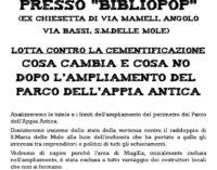 Assemblea pubblica contro la Cementificazione a S.Maria delle Mole