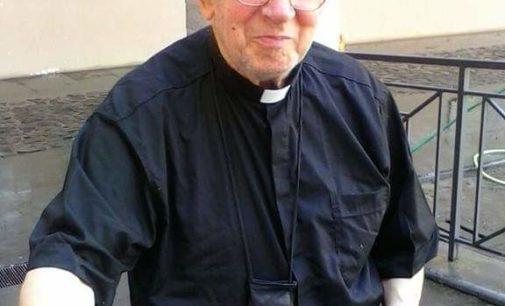 Velletri – è tornato alla casa del padre  MONS. ANGELO LOPES ARCIPRETE DEL CAPITOLO DELLA BASILICA DI S.CLEMENTE