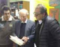 Labico: donato al Comune dal Professor Ridley il carteggio completo del Ficoroni