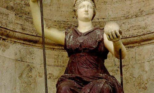 Cori – Atena-Minerva: la dea dagli occhi scintillanti