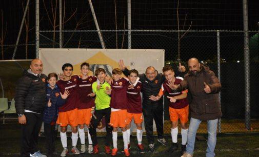 As Roma Futsal (Under 15), altro esame superato. Capitan Folco: «Crediamo al primo posto»