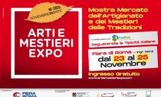 Arti e Mestieri Expo torna dal 23 al 25 novembre