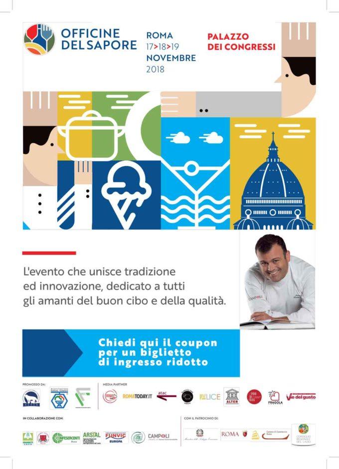 """Roma –  """"Officine del Sapore"""""""