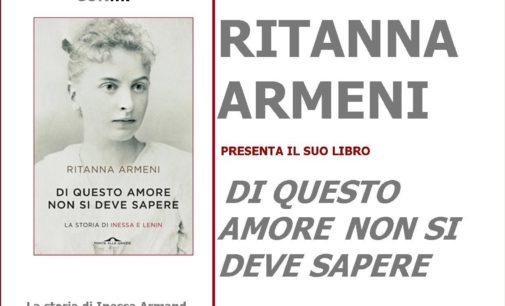 """Ritanna Armeni, """"Di questo amore non si deve sapere"""""""