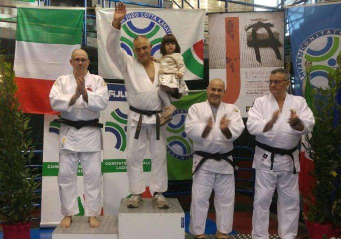"""Asd Judo Frascati: Alfredo Moraci trionfa nel """"Roma Challenge"""", Aliano campione italiano Master"""