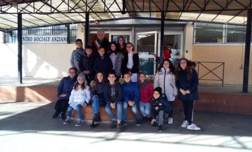 I 7 HILL GOSPEL CHOIR incontrano gli studenti della Tiberio Gulluni di Colonna