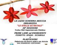 """Lazio Scherma: 20a edizione delle """"Stelle di Natale"""""""