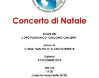 Grottaferrata – Concerto di Natale