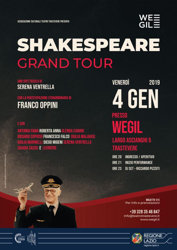 """Shakespeare Grand Tour"""