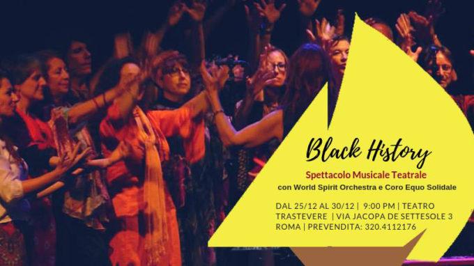 Teatro Trastevere – BLACK HISTORY