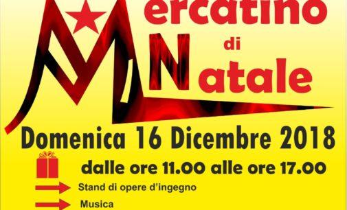 MARINO, MERCATINO DI NATALE ALLA COOPERATIVA GNOSIS