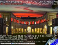 Ultimo appuntamento dell'anno con Etrusco di Sera