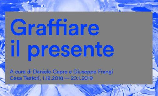 """GRAFFIARE IL PRESENTE 21 PITTORI SUL """"RING"""" DI CASA TESTORI"""