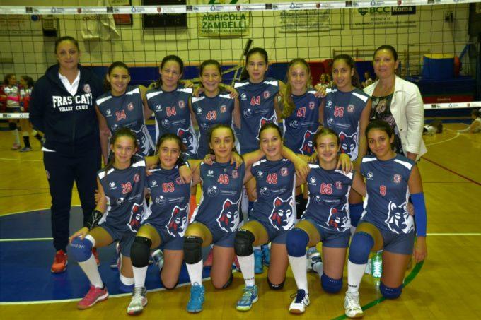 Volley Club Frascati, Marta Nuzzo e l'Under 14 Elite: «Speriamo di fare il salto in Eccellenza»
