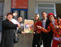 Visita a sorpresa del circo Greca Orfei ai bimbi ricoverati all'ospedale Civico di Palermo