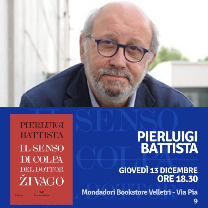 Pierluigi Battista giovedì in libreria a Velletri
