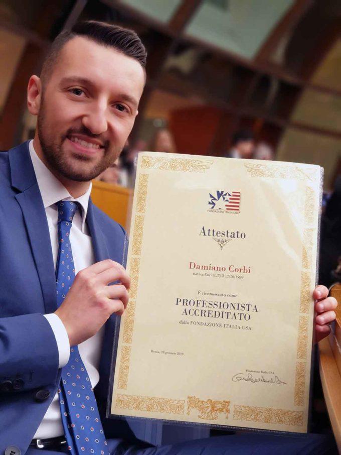 Giovane di Cori tra i laureati italiani più meritevoli del 2018