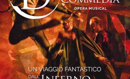 LA DIVINA COMMEDIA OPERA MUSICAL: IL TOUR DANTESCO PROSEGUE SUI PRINCIPALI PALCOSCENICI ITALIANI