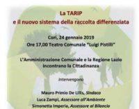 Cori – La TARIP e il nuovo sistema della raccolta differenziata