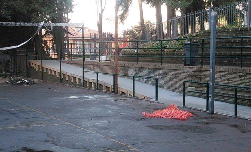 Frascati, avviati interventi di manutenzione nel parco di Villa Innocenti