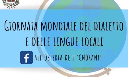 Labico (Rm): Giornata mondiale del dialetto e delle lingue locali